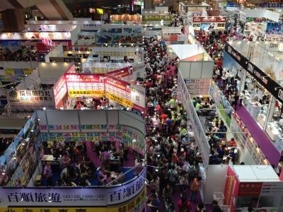 台湾旅行展潜入 円安の今台湾人が日本へ行く様子