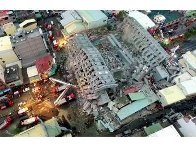 台湾南部で起きた地震情報と日本の対応
