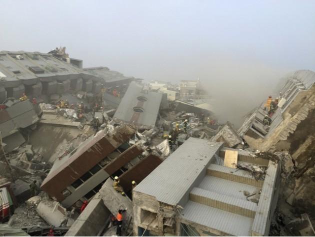 台湾南部で起きた地震情報と日本...